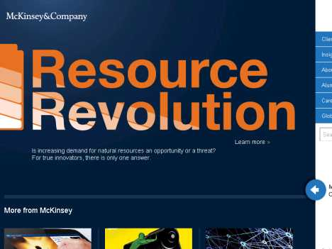 麦肯锡公司 www.mckinsey.com